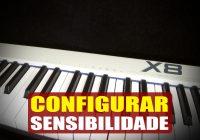 Configurando a Sensibilidade (MIDIPLUS X8 – AMW) | Tudo Sobre Teclado Musical