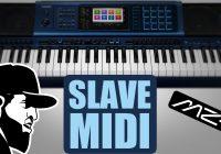 Como Controlar Um Timbre Com Controlador MIDI   Casio MZ-X500