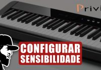 Configurar Sensibilidade de Teclas | Casio Privia PX-S1000