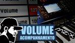 Como Controlar o Volume do Acompanhamento | Casio MZ-X500