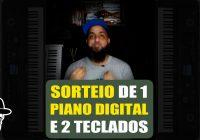 Sorteio De 1 Piano Digital e Mais 2 Teclados Yamaha | Vlog Essias