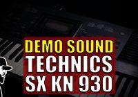 Demo Sound Technics SX KN 930 | Tudo Sobre Teclado Musical (TSTMEP063)