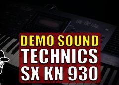 Demo Sound Technics SX KN 930   Tudo Sobre Teclado Musical (TSTMEP063)
