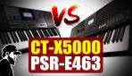 Yamaha PSR-E463 ou Casio CT-X5000? Qual é o Melhor?  | Tudo Sobre Teclado Musical