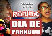 Dia de Parkour no Roblox | Game Play