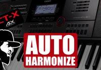 Auto Harmonize – O Quê É E Como Usar? | Casio CT-X5000