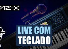 Como Fazer Live Com Qualidade Usando o Teclado e Microfone | Casio MZ-X500