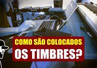 Como São Colocados Os Timbres Em Um Teclado Musical? | Tudo Sobre Teclado Musical