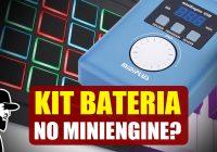 Kit De Bateria No MIDIPLUS miniEngine – Com e Sem Drum Pad | Tudo Sobre Teclado Musical