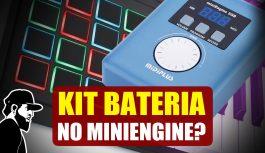 Kit De Bateria No MIDIPLUS miniEngine – Com e Sem Drum Pad   Tudo Sobre Teclado Musical