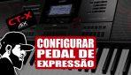 Como Configurar Pedal de Expressão Para Controlar Layer | Casio CT-X5000