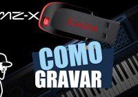 Como Gravar No Pendrive | Casio MZ-X500