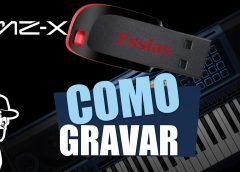 Como Gravar No Pendrive   Casio MZ-X500