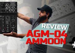 REVIEW Ammoon AGM-04 (Mixer)   Unboxing e Reviews