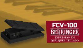 Como Usar O Melhor Pedal De Expressão – FCV-100 Da Behringer | Tudo Sobre Teclado Musical