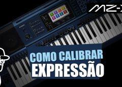 Como Usar e Calibrar O Pedal de Expressão | Casio MZ-X500