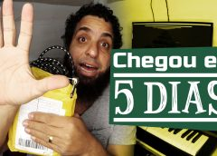 Minha Compra Do AliExpress Chegou Em 5 Dias – Cabo de Guitarra | Vlog Essias