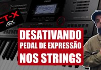 Desativando O Pedal De Sustain Nos Strings | Casio CT-X5000