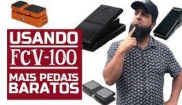 Configurando Pedal de Expressão FCV-100 e Outros Modelos   Tudo Sobre Teclado Musical