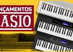 Novos Casio CT-S1, CT-S400 e LK-S450   Lançamento   Tudo Sobre Teclado Musical
